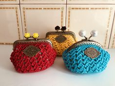 Crochet Earrings, Coins, Coin Purse, Wallet, Purses, Jewelry, Fashion, Coining, Facts