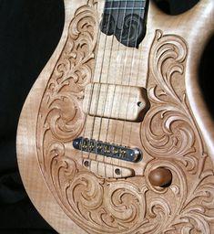 william jeffrey jones guitars - Nocturne for iO Guitar Painting, Guitar Art, Music Guitar, Cool Guitar, Acoustic Guitar, Custom Electric Guitars, Custom Guitars, Guitar Storage, Ukelele