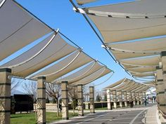 Shade Sails- Exterior systems