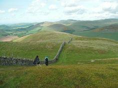 Liselotte Douglas-Petersen - Pilgrimsvandring Skotland, St. Cuthberts Way | 12. - 20. april 2014 - Munonne