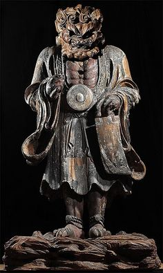 Japan - 17th cent. (early) Temple Sculpture (wood)