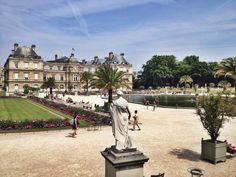 O Jardim de Luxembourg - Expresso Paris