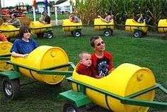 DeBuck's Corn Maze and Pumpkin Patch, Belleville, Michigan
