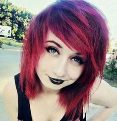 Cool Emo Hairstyles Emo And Short Emo Hairstyles On Pinterest Hairstyles For Women Draintrainus
