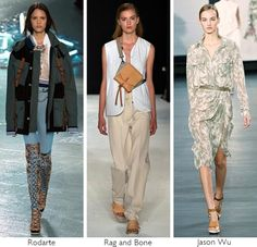 RLS's favorite military-inspired runway outfits