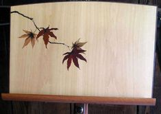 Dovetail Collection: Custom Marquetry Music Stand