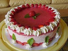 Erdbeercreme -Torte, ein sehr leckeres Rezept aus der Kategorie Torten. Bewertungen: 27. Durchschnitt: Ø 4,3.