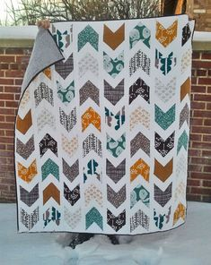 quilt pattern and colors.
