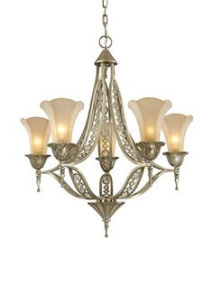 54% OFF Trump Home Chelsea 5-Light Chandelier with Embedded Crystal