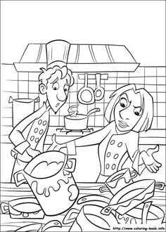 cool ratatouille-41 coloring page