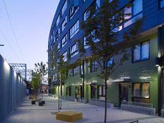 Mint Street Peabody Housing Bethnal Green site visit Photo © Kilian O'Sullivan
