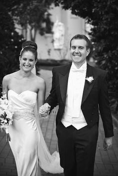Liz and James! Silk wedding dress by SARAH JANKS  LOVE SILK