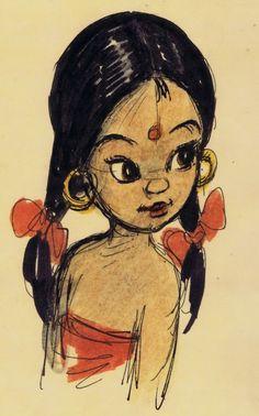 Shanti - The Jungle book
