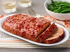 The Best Turkey Meatloaf by Food Network Kitchen Best Ground Turkey Recipes, Best Turkey, Meatloaf Recipes, Meat Recipes, Cooking Recipes, Healthy Recipes, Entree Recipes, Dinner Recipes, Chicken
