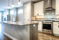 At 303 we love to combine rustic elements with some modern flair Custom Homes, Denver, Kitchen Design, King, Rustic, Building, Modern, Projects, Home Decor
