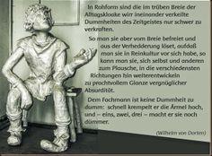 Wilhelm von Dorten: Von der Veredlung der Dummheit