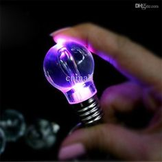 New Arrival LED Bulb Light Key Chain RGB LED Necklace LED Flashlight Night Light Key Ring Keychain Lamp Rainbow Color Exclusive Custom Hot Online with $0.9/Piece on Cnmall's Store   DHgate.com