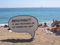 BARCELONA  Playa Barceloneta