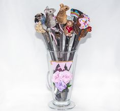 http://essmes.blogspot.com/2017/06/zoo-na-yzeczkach.html  Art spoons polymer clay
