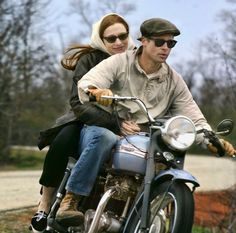 "Cate Blanchett And Brad Pitt in ""The Curious Case of Benjamin Button"", 2008 #sunglasses"