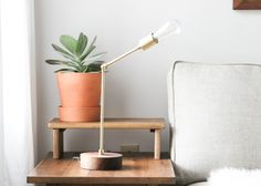 The Langdon Desk Lamp is a new take on the traditional desk lamp. With a modern appeal and it's mid century inspiration, it will always remain in style.