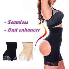 bfb889aeb65d Palicy Women's Butt Lifter Tummy Control Shorts Shaper Bum Lift Pants  Boyshorts Buttock Enhance S2A3S41 #