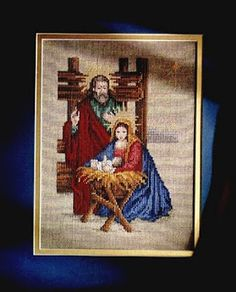 #Nativity #crossstitch #christmas