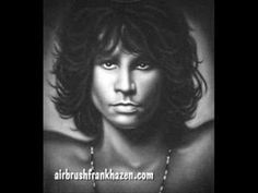 The Doors - People are strange (Live) version, very cool & lots of really cool artwork of Jim....