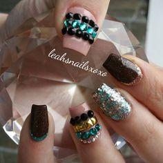 "Leah's Nails! on Instagram: ""Inspired by @_stephsnails_ using @glamandglitsnails Naked collection ""Coffee break"" and ""Never Enough Nude"" #Leahsnails #acrylicnails #nails #fakenails #glitter #sparkle #lovenails #pretty #beautiful #naillove #nailtrend #nailed #nailjunkie #nailartist #nailtech #instanail #nailaholic #nailsdid #nailswag #nailsoftheday #nailporn #nailsofinstagram #ilovenails #notpolish #nailtech #sidneynailtech #nailedright #nailsonfleek #naildit #glamandglits"""