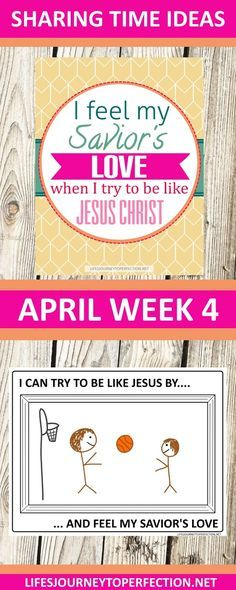 APRIL WEEK 4 SHARING TIME IDEAS FOR LDS PRIMARY ACTIVITIES PRINTABLES AND IDEAS