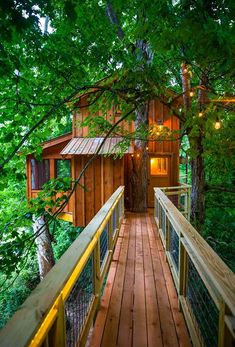 Off-TV Photo Tour: Tennessee Riverbank Treehouse — Nelson Treehouse Treehouse Masters, Treehouse Living, Treehouse Cabins, Treehouse Ideas, Treehouses, Beautiful Tree Houses, Cool Tree Houses, Tenda Camping, Zelt Camping