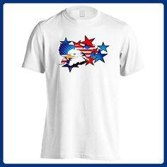 New 4Th Of July American Usa Men's T-Shirt Tee i176m - Holiday and seasonal shirts (*Amazon Partner-Link)