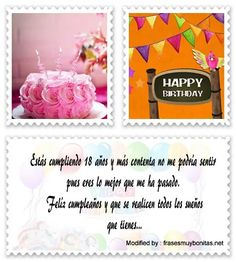 17 Ideas De 18 Cumpleaños En 2021 Mensajes De Cumpleaños Cumpleaños Saludos De Cumpleaños
