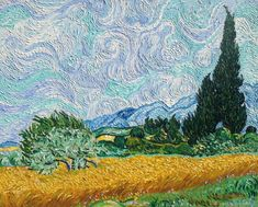 Old mill by Vincent Van Gogh Van-Go Paint-By-Number Kit
