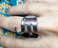 Fork Elephant Elefork Ring by TwiceTreasuredDesign on Etsy, $30.00