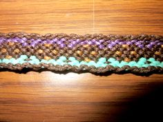 Stitched Diamond Woven Friendship Bracelet Macrame Bracelet by TheGringaHippie on Etsy