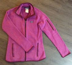 Patagonia Better Sweater Full Zip Jacket Plum Women's Sz XS / | eBay