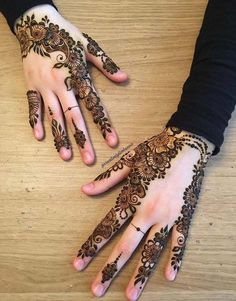 Engagement Henna Design