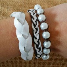 Check out this item in my Etsy shop https://www.etsy.com/listing/231394657/set-of-3-bracelets