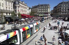 Place du Ralliement with new tramway