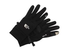 The North Face Etip gloves--perfect for texting or snapping a photo.