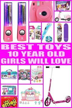 Best Toys For 10 Year Old Girls