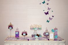 Simple Sweet dessert table for intimate party guest of 20 people. #Houstonpartyplanner #touchesbytempest