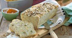 Glutenfritt havrebröd med pumpafrön – recept