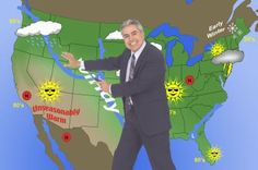 Fifth Grade Weather Map Activities - learn about weather maps, have classroom weather team/meteorologists - take a field trip to a local TV station or weather station and see and talk to a meteorologist!