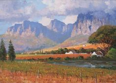 roelof rossouw Image Search, Landscape, Painting, Art, Art Background, Scenery, Painting Art, Kunst, Paintings