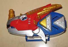 POWER RANGERS DINO THUNDER MORPHER BRACHIO DRAGO TRIASSIC THUNDERSAURUS RARE