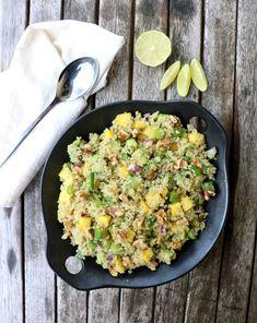 Quinoasalat med mango & avokado - LINDASTUHAUG