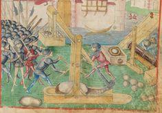 Diebold Schilling, Amtliche Berner Chronik, Bd. 1 Bern · 1478-1483 Mss.h.h.I.1  Folio 251