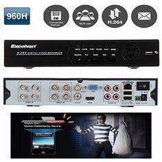 FLOUREON®High Quality H.264 960H: Amazon.co.uk: Electronics